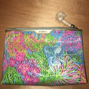 Lilly Pulitzer Printed Clear Vinyl Pouch